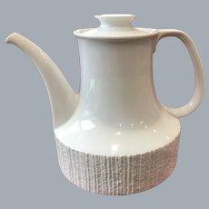 Thomas Rosenthal Arcta White Bisque Coffee pot