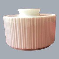 Thomas Rosenthal Arcta White Bisque covered marmalade jam bowl