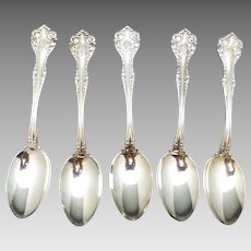 "Antique Gorham Mothers pattern  gravy Ladle 7 3/8"" long  Sterling Silver"