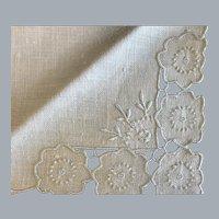 Set 6 Vintage never used linen tea napkins