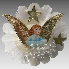 Vintage tree topper angel