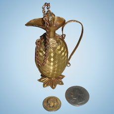 French Ormolu Ewer for Your French Doll's Vanity