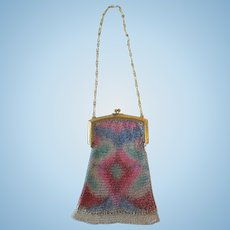 BEAUTIFUL Whiting & Davis Flapper Purse!