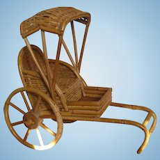 French Rickshaw for Your Asian/Oriental Doll!