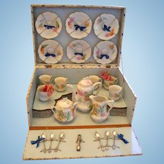 EXQUISITE French Tea Set for Your Antique Doll!