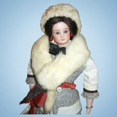 Ermine Stole and Hat from PARIS for Your Doll!