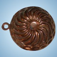 Antique Doll Kitchen Copper Mold #1