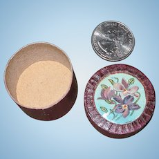 Tiny Antique French Box for Doll Treasures!