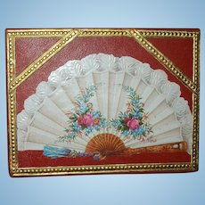 Antique French Fan Presentation Box
