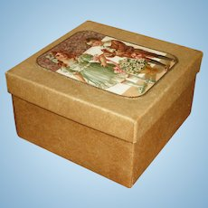 Wonderful Antique Box for Doll Treasures