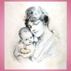 Antique Ephemera for Mother & Baby