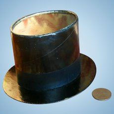 Top Hat French Candy Container for Your Doll!