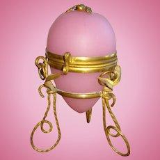 French Palais Royal Opaline Perfume Egg