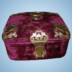 Exquisite French Antique Sewing Box