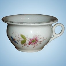 EARLY Antique French Doll Chamber Pot