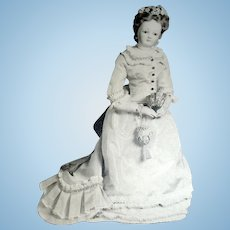 Antique Photo of a French Fashion Doll