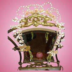 Incredible Antique Bride Coronet