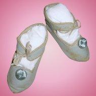Bee Mark Blue Leather JUMEAU Shoes Size 9