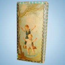19th Century Box for Doll Display