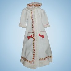 Antique French Morning Dress for French Fashion Doll