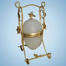 Under Glass Dome Palais Royal French Perfume Egg