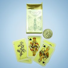 "1 1/4"" x 2"" Swiss Playing Cards for Your Doll!"
