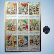 Sleeping Beauty French Story Trade Card