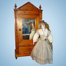 Gorgeous French Doll Armoire