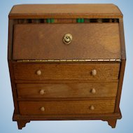 All-Bisque Doll Desk or Dollhouse Desk