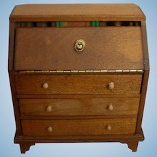 All-Bisque Doll Desk or Dollhouse Desk