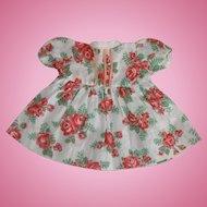 """""""Roses"""" 50's Doll Dress"""