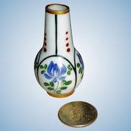 Mini Limoges Wysteria Vase