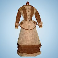 Antique French Walking Suit