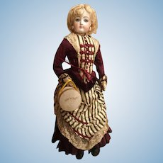 French Miniature Doll Hat Box