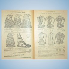 Unmentionables Paris 1897 Catalog