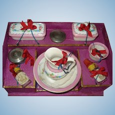 Gorgeous Toilette Set for Your Antique Doll