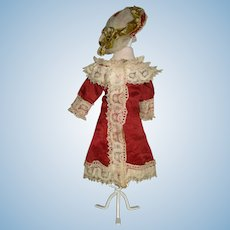 "Small French Fashion Ensemble for 11-12"" Doll"