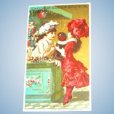 Doll Charity Donation Trade Card