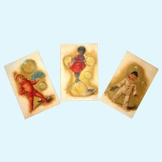 Bubble Babies French Trade Card Set
