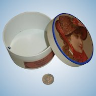 French Doll Hatbox from PARIS