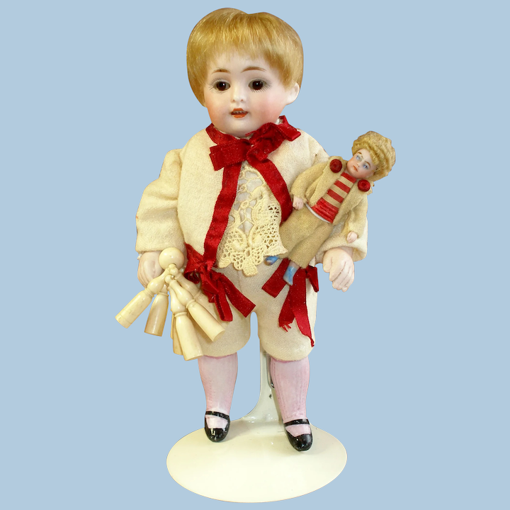 Bone Skittles Antique French For Your Doll Aubonmarche1800 Ruby Lane