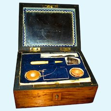 Rare Georgian Child's Sewing Box