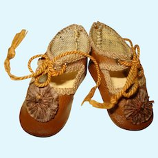 Adorable Pair of SMALL Bebe Shoes