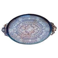 Elegant French Vanity Tray for Display