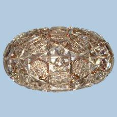 American BRILLIANT Period Cut Glass Jewelry Casket!