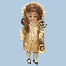 Tiny Perfume Bottle as Doll Purse!