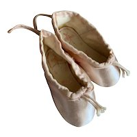 Bella Bordello MINI Vintage Shabby Chic Pink Ballet Pointe Shoes Gamba