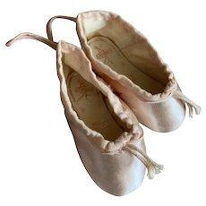 Bella Bordello MINI Vintage Shabby Chic Pink Ballet Pointe Shoes Gamba