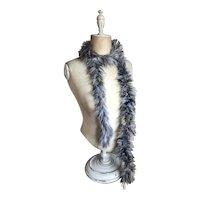 Bella Bordello Vintage Feather Boa Showgirl Burlesque Costume