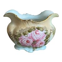 Bella Bordello Antique Shabby Chic Pink Roses Boat Dish